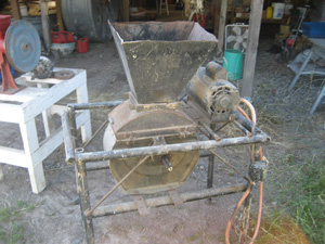 Handmade Wheat Thresher
